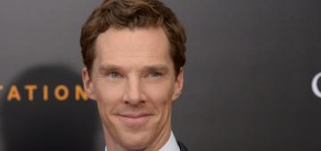 Benedict Cumberbatch on his 'sex symbol' status: 'It does make me twinkle'