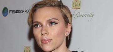 Scarlett Johansson loves Elizabeth Warren, baths, key lime pie & acupuncture