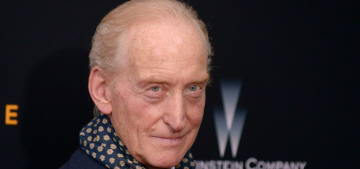 Charles Dance: Peter Dinklage 'must be the envy of every dwarf actor'