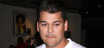 Rob Kardashian expands his sock empire to include onesies