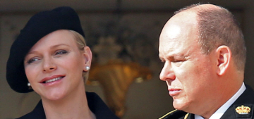 Prince Albert says Charlene is due at Christmas & he doesn't know the genders