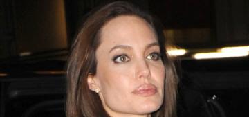 Angelina Jolie took Shiloh & Zahara to a NYC art-supply store: adorable?