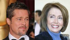 Brad Pitt will meet w/ Nancy Pelosi about NOLA