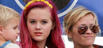 Will Reese Witherspoon's punk teenager daughter help or hurt her Oscar chances?