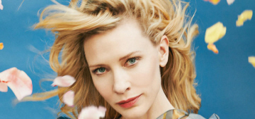 Cate Blanchett feels judged by the 'mummy mafia' for being a working mum