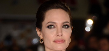 Angelina Jolie in a white Ralph & Russo caplet in London: gorgeous or sacky?