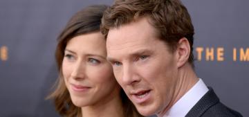 Benedict Cumberbatch: Sophie Hunter 'loves me back to the same degree'