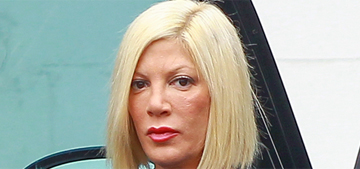 Tori Spelling's rack is 'expired & recalled' but she fears losing her implants