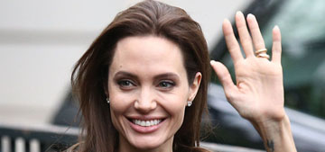 Angelina Jolie wouldn't want to pay UK taxes: 'I'm quite responsible about money'