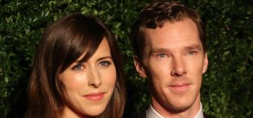 Benedict Cumberbatch & Sophie Hunter walk their second red carpet in London