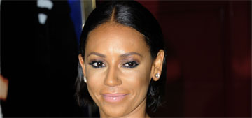 Mel B  had a four year relationship with a mom at her daughter's school