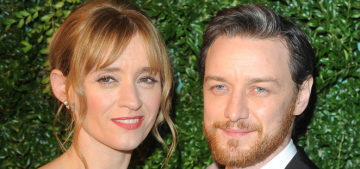 Were James McAvoy & Ann Marie Duff the cutest couple at the ES Awards?