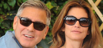 Is Amal Clooney jealous of George's relationship with Cindy Crawford?