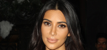 Kim Kardashian did an AIDS charity event & a USO event: no shade?
