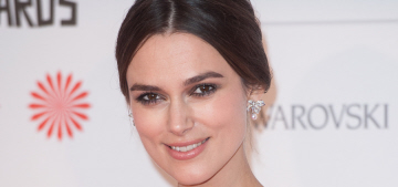 Keira Knightley in fur-trimmed Rocha at the Moet BIFAs: lovely or weird?