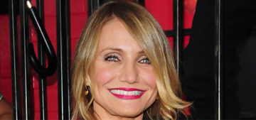 Cameron Diaz on 42: 'I love being this age. So much just falls away. Fear, mostly'