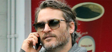 Joaquin Phoenix announces he's engaged to his yoga instructor (update)