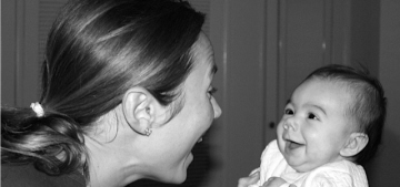 Stacy Keibler posts first photo of daughter Ava Pobre on her blog: adorable?