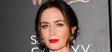 Emily Blunt in Dolce & Gabbana at 'Into the Woods' premiere: gorgeous?