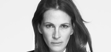Julia Roberts is the new, non-smiling face of Givenchy: depressed or cool?