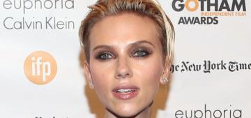 Scarlett Johansson: Breastfeeding is 'the best way to get back in shape'