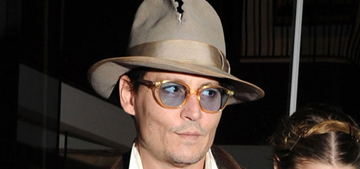 Is Vanessa Paradis 'horrified' & blaming Amber for Johnny Depp's boozy behavior?