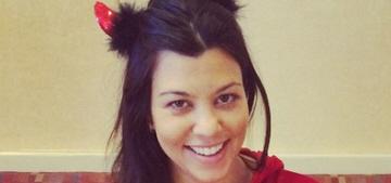 Kourtney Kardashian gave birth to her third child on Mason Disick's 5th b-day