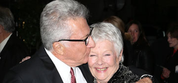 "Judi Dench: ""It drives me spare when people say 'are you going to retire?'"""