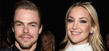 Kate Hudson & Derek Hough cover Us: 'They like to dance and mess around'