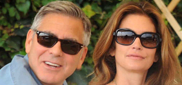 George & Amal Clooney are vacationing in Cabo with Cindy Crawford & Rande