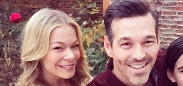 Is LeAnn Rimes worried about Eddie Cibrian's new, pretty, blonde costar?
