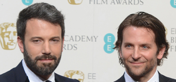 Bradley Cooper's buddies are pushing hard for him to win the Oscar