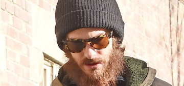 Andrew Garfield's beard has gotten crazy: hipster nonsense or next-level hobo?