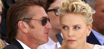 Sean Penn sort of proposed to Charlize Theron in Paris (without a ring)