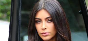 Kim Kardashian doesn't smile in photos because smiling 'causes wrinkles'
