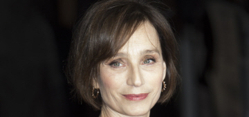 Kristin Scott Thomas, Emily Watson make the Queen's New Year's honors list