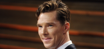 Benedict Cumberbatch: George Clooney is 'squidgy,' soft, moist in person