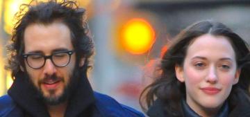 Kat Dennings & Josh Groban went for a NYE stroll: adorable or still weird?