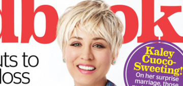 Kaley Cuoco apologizes if you were offended by her comments about feminism