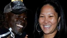 Kimora Lee Simmons and Djimon Hounsou might be married