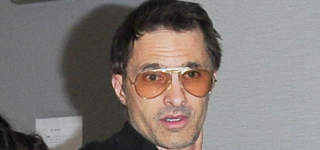 Olivier Martinez is being investigated for battery on an LAX employee