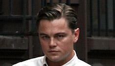 Leonardo DiCaprio and Kate Winslet filming Revolutionary Road