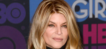 Kirstie Alley claims to have lost 50 pounds & she's down to a 'size 6 or 8′