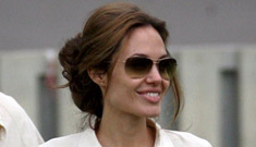 Brangelina to adopt new child & have one more the old fashioned way?