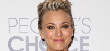 Kaley Cuoco in Peggy Hartanto at the People's Choice Awards: cute or fug?