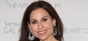 Minnie Driver in Parker New York at the Art of Elysium gala: lovely or fug?