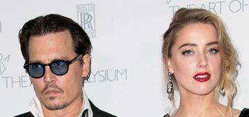 Amber Heard in vintage Dior at the Art of Elysium gala: elegant or awkward?
