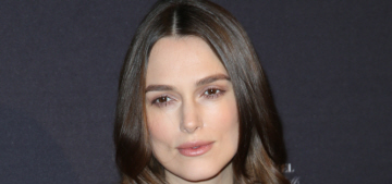 Keira Knightley in Hermes at the pre-Globes BAFTA event: cute or unflattering?