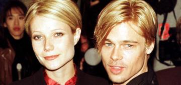 Gwyneth Paltrow talks ex-boyfriends, claims Brad Pitt was 'too good for me'