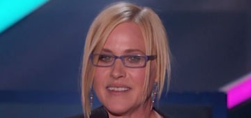 Patricia Arquette: 'Thanks to the bloggers… who've invented their own career'